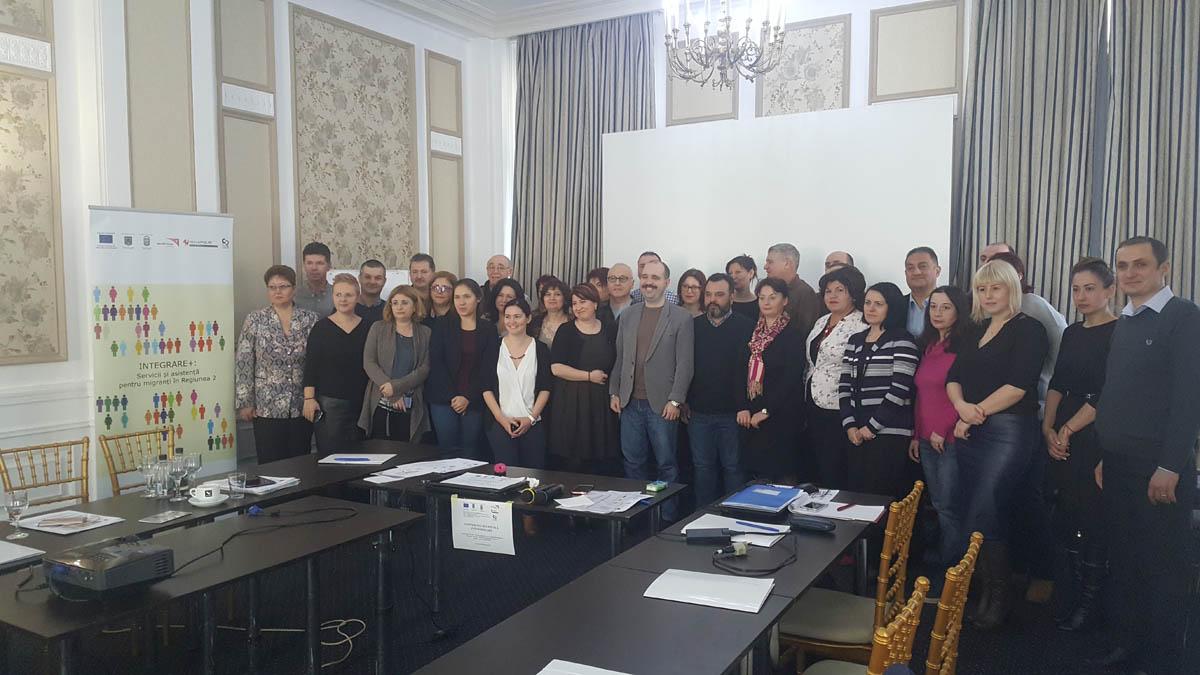 Sesiune instruire autorități cu atribuții în integrarea BP și RTT din Regiunea 2